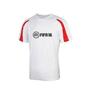 EA-Sports-FIFA-16-2016-Game-Merchandise-Mens-T-Shirt-L-XL-White-NEW