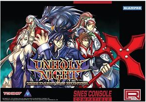 Unholy-Night-The-Darkness-Hunter-SNES-Compatible-Super-NES-US-Seller