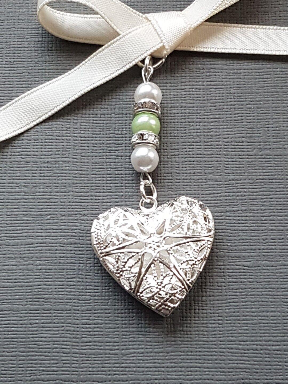 ComFemmede spéciale cœur filigrane Médaillon Bouquet Couleur CHARMES (20) Couleur Bouquet Mix Perles 8a935b