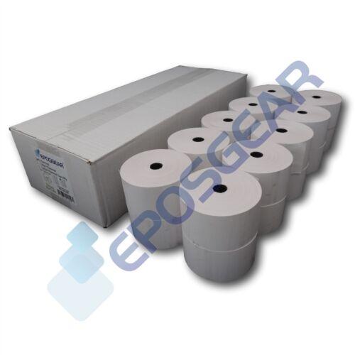 10 De 44mm X 80mm 44x80mm De Papel Térmico Caja Registradora hasta Impresora Recibo Rollos