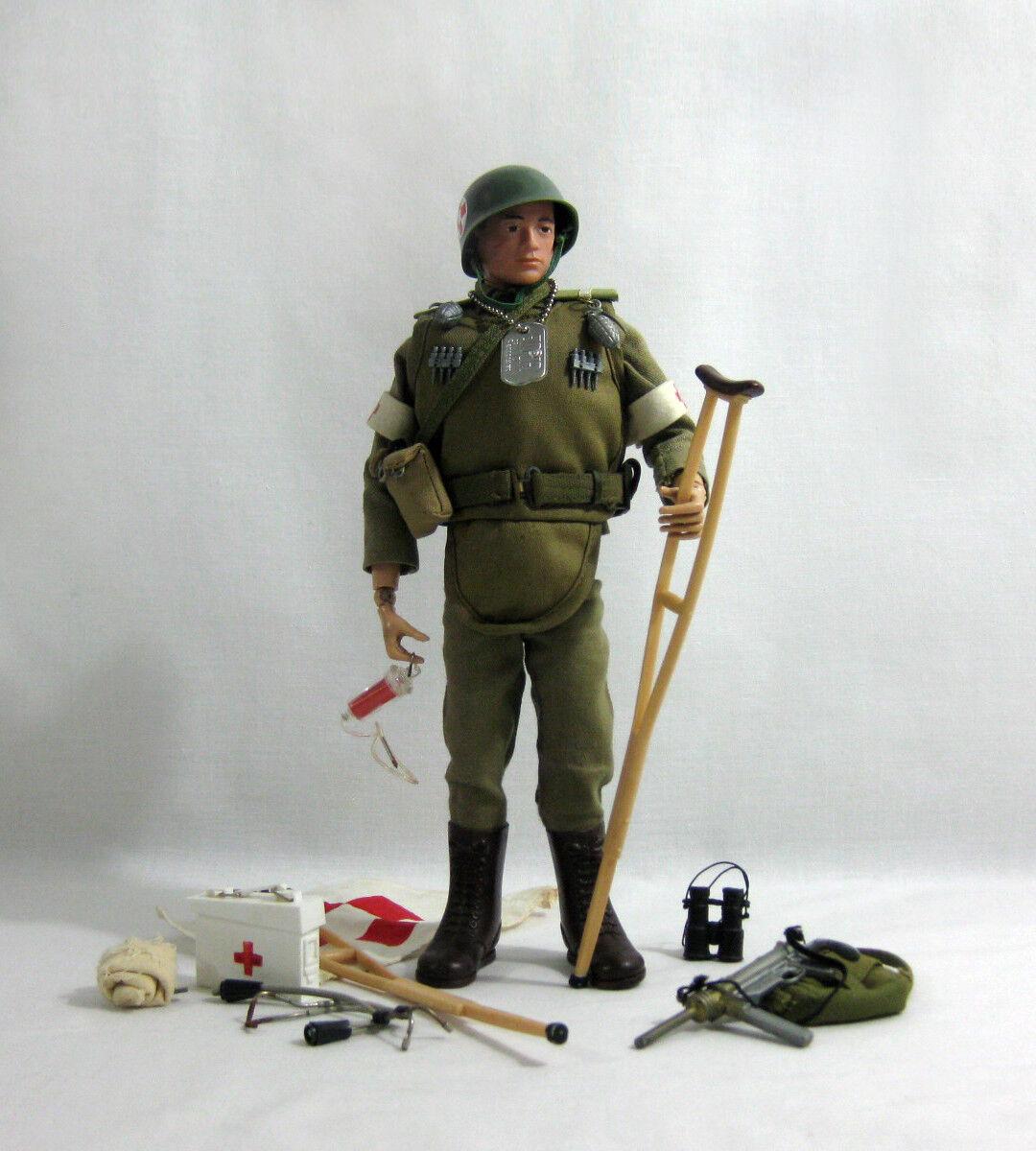 C1965 Vintage G.I Joe ✧ Army Medic ✧ Hasbro Action Man VAM
