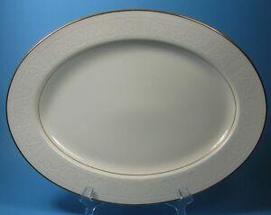 Noritake-Ivory-China-TULANE-7562-Medium-Oval-Serving-Platter