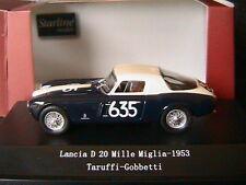 LANCIA D20 #635 MILLE MIGLIA 1953 TARUFFI GOBETTI STARLINE 518413 1/43