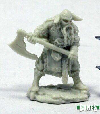 100% Vero Reaper Miniatures 77399 Ossa: Sigurd, Viking-mietitore Ossa-mostra Il Titolo Originale Lustro