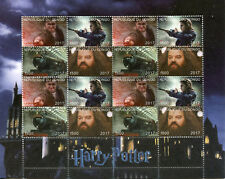 Congo 2017 CTO Harry Potter Hagrid Hogwarts Express Trains 16v M/S I Stamps