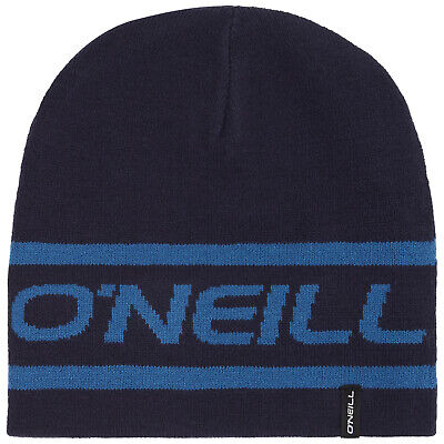 Mens Reversible Knitted Beanie Hat Ski Hat One Size Colour Choices BNWT