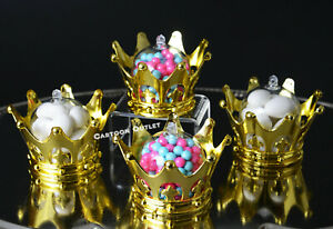 12-GOLD-CROWN-FILLABLE-PARTY-FAVORS-PRINCESS-PRINCE-BABY-SHOWER-TABLE-DECORATION