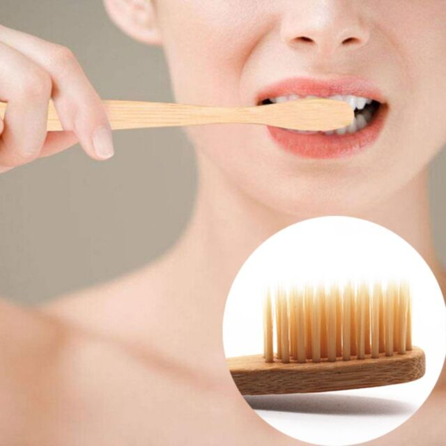 Environmental Bamboo Toothbrush Oral Care Teeth Brushes Eco Soft Natural Brush