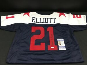 EZEKIEL ELLIOTT DALLAS COWBOYS SIGNED USA SPECIAL CUSTOM JERSEY JSA  supplier