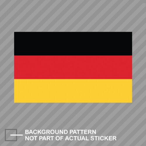 German Flag Sticker Decal Vinyl Germany