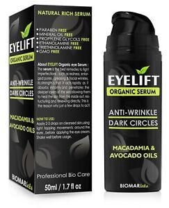 Eyelift-Bio-Face-Lift-Eye-natuerlichen-Anti-Falten-Aging-Bio-Vegan-Serum-50ml