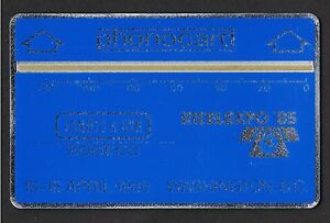 USA-IntelExpo-1985-Phonocard-15-18-April-1985-Washington-D-C-Mint-2-000-issued