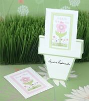 24 Flowers In Bloom Seed Packet Flower Pot Baby Shower Wedding Place Cards