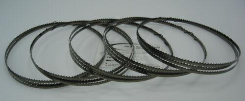 5er SET Holz Sägeband Abmessung 1575 x6x0,5mm Zahnteilung 4 mm Holzbandsägeblatt