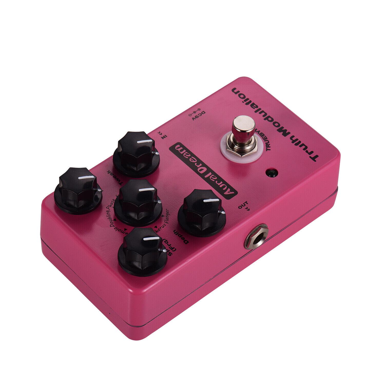 Aural Dream True Modulation Guitar Effect Pedal 8 Sound Modes Including S0C6
