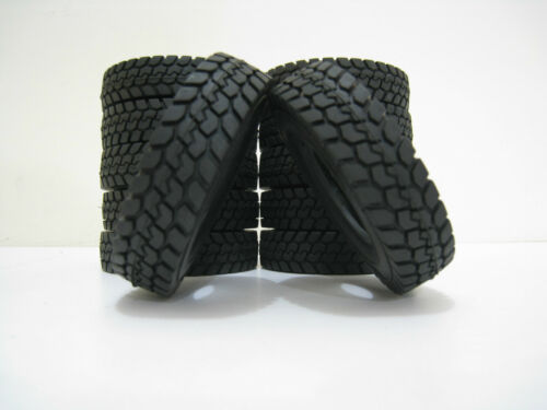 1:14 Rubber Tyre tire F.RC Tamiya Tractor Trailer Prime Mover Truck King Hauler