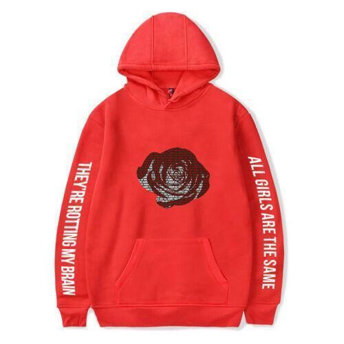 New Juice Wrld Printed Hoodie Casual Sweatshirt Hooded Cotton Pullover Outwear