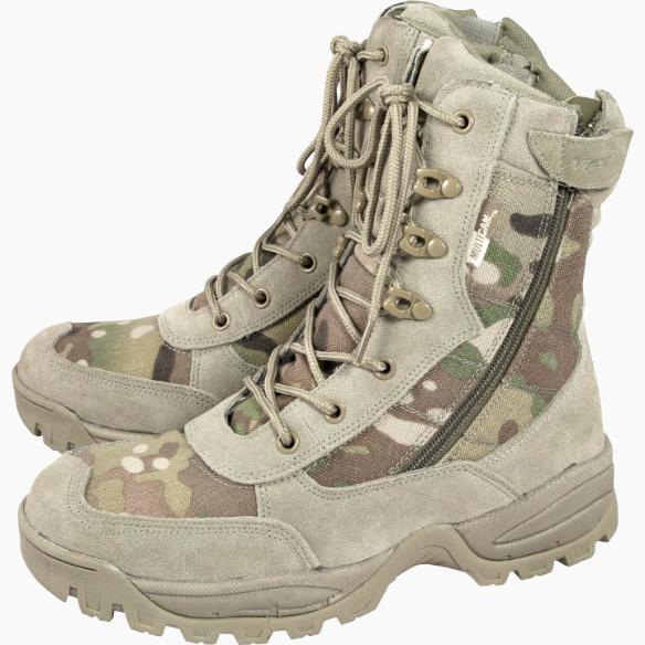 Viper Special Ops Patrouille Multicam bottes PSG Militaire Combat Tactical Fermeture Éclair Latérale