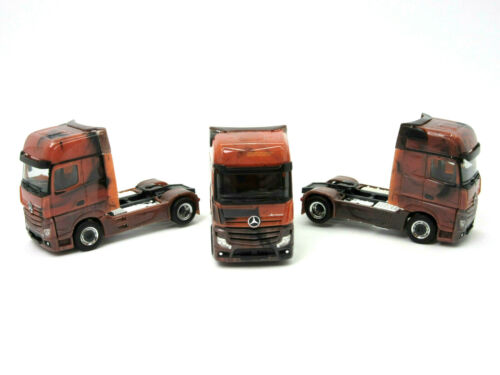 "HERPA Modell 1:87//H0 MB Actros 18 GigaSpace Zugmaschine /""Marmor Edition/"" #934978"