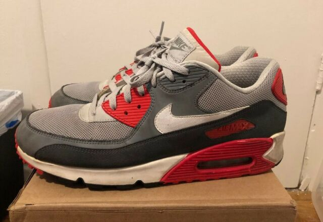 Nike Air Max 90 Essential 13 Dusty Gray Infrared White 2013 Release 537384 011