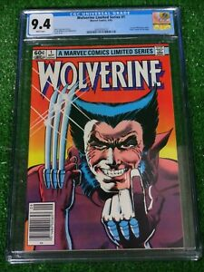 CGC-Comic-graded-9-4-Wolverine-Ltd-Series-Marvel-1-HOT-Key-issue