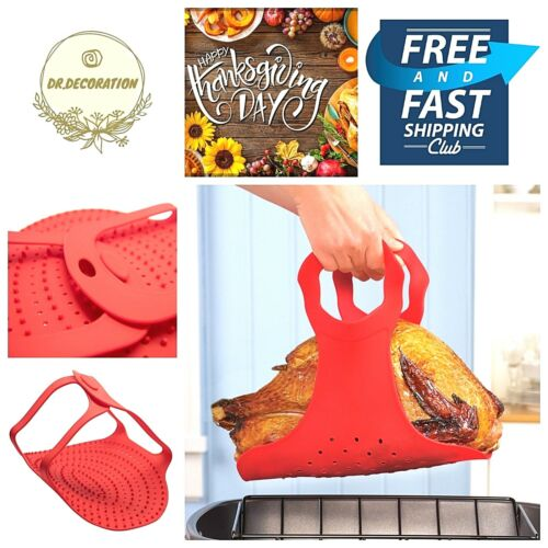 Cuisine Safe Silicone tapis cuisson cuisson Barquette Alimentaire Duck Turquie Lifter four micro