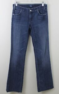 Citizens-of-Humanity-Kelly-Jeans-28-Low-Waist-Boot-Cut-Denim-Stretch-Dark-Wash