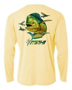 Performance-Fishing-Shirt-UPF-Moisture-Long-Sleeve-Microfiber-Mahi