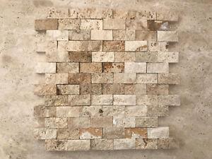 Mosaico a spacco in pietra per rivestimento pareti interni esterni