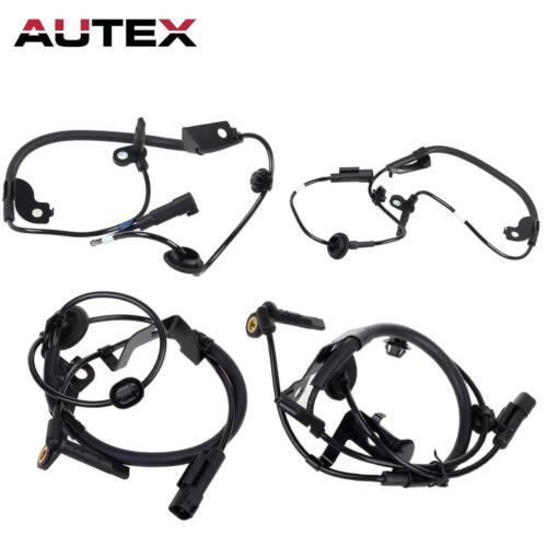 4x Front Rear ABS Wheel Speed Sensor For 09 10 Mitsubishi Lancer 2.0L 2.4L AWD