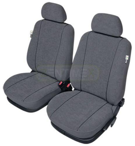 Sitzbezüge grau vorne ELE VW FOX
