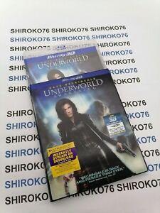 Underworld: Awakening (Blu-ray/DVD, 2012, UltraViolet 3D) SlipCover