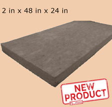 New Listingmineral Wool Sheet 48 X 24 X 2 High Temperature Insulation Density R 8 Green