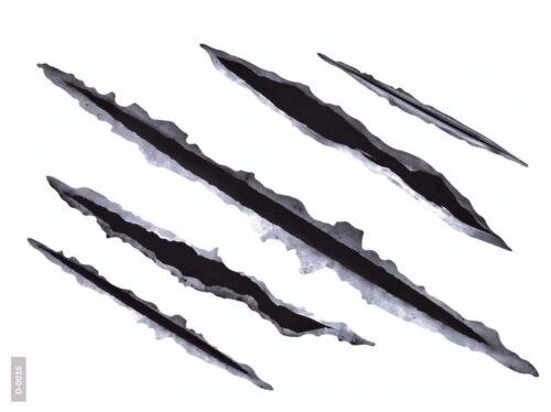 10x arco arañazos agujeros de bala tribal pegatinas auto Quizáun