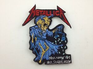 Metallica-Embroidered-Patch-SKELETON