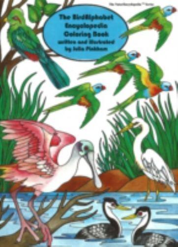 The Birdalphabet Encyclopedia Coloring Book (Naturencyclopedia Series)