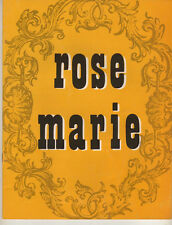 "Anna Marie Alberghetti Souvenir Program"" ""Rose Marie"" 1960 Stock"