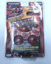 BAKUGAN BATTLE BRAWLERS SEASON 1 : Dan Kuso Kit Pyrus,Red (Ver. Korea)