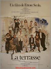 LA TERRASSE Affiche Cinéma / Movie Poster ETTORE SCOLA