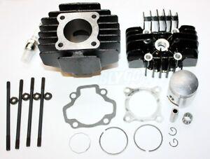 Rebuild-Head-Bore-Barrel-Cylinder-Piston-Ring-Kit-Set-YAMAHA-PEEWEE50-PW50-PY50