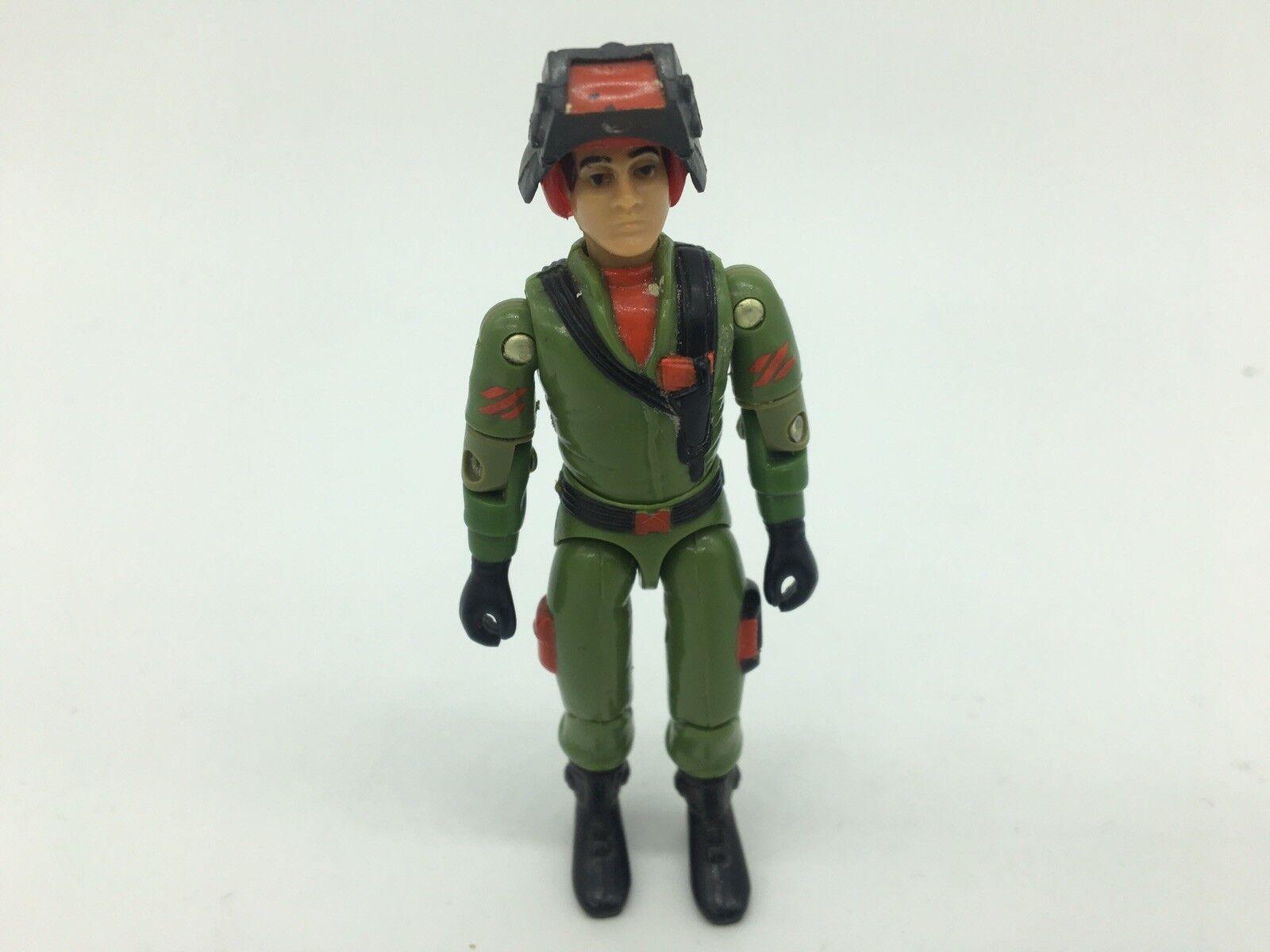 GI Joe, forza di azione, RARE, Steeler, Figura, 1980S, pilota, Battle Tank
