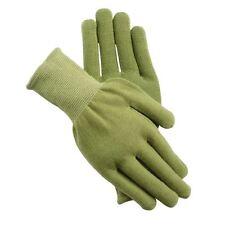 6 Pair Small Women's Soft Bamboo Fabric Gardening Work Gloves