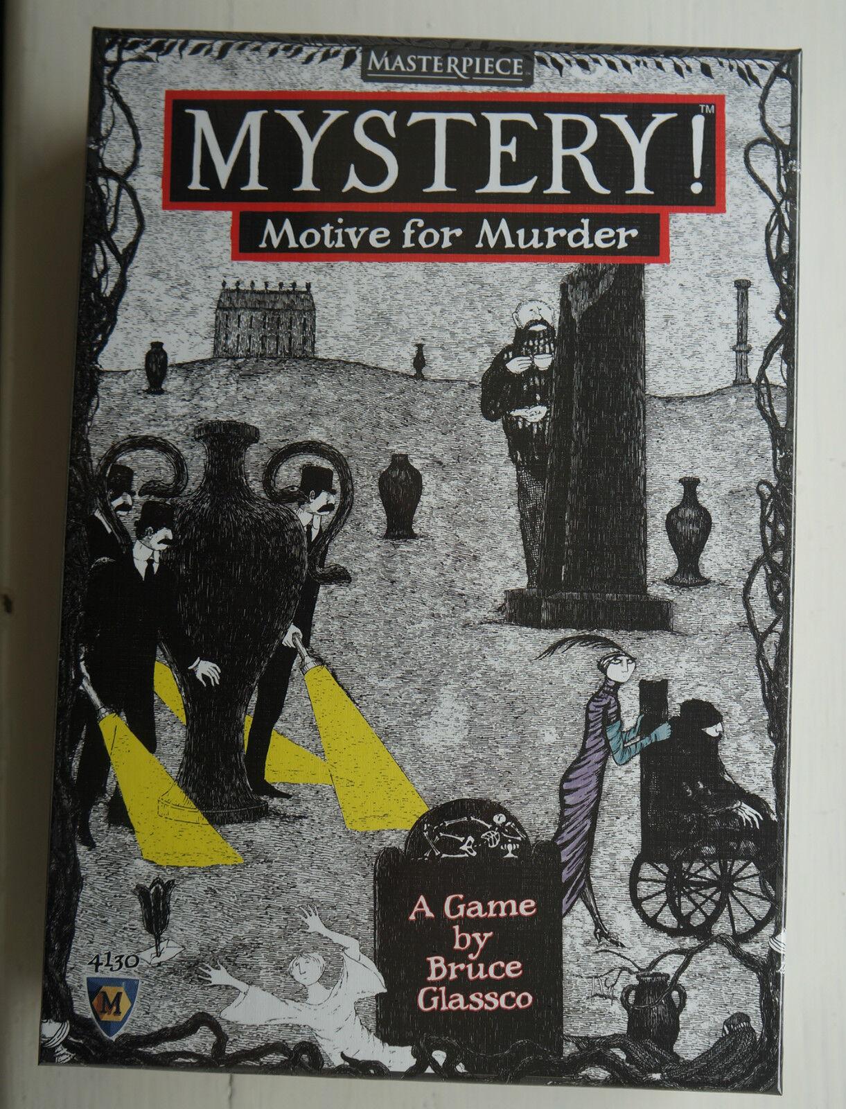 Mystery    Motive For Murder Game cfa9c8