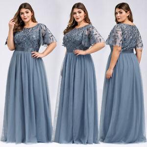Ever Pretty Plus Size Elegant Sequins Long Bridesmaid Dresses Wedding Guest Gown Ebay,Wedding Guest Dresses Fall 2019