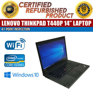 Lenovo-ThinkPad-T440p-14-034-Intel-i5-8GB-RAM-500GB-HDD-Win-10-WiFi-B-Grade-Laptop