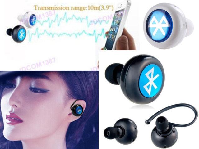 MiNi Bluetooth V3.0 Wireless In-Ear Headphones Headset Music Call Earphone