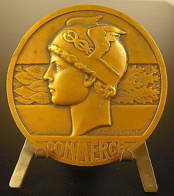 2019 Nuevo Estilo Médaille Dieu God Hermès Casqué Art Déco C1930 Patron Du Commerce Buisness Medal Perfecto En Mano De Obra