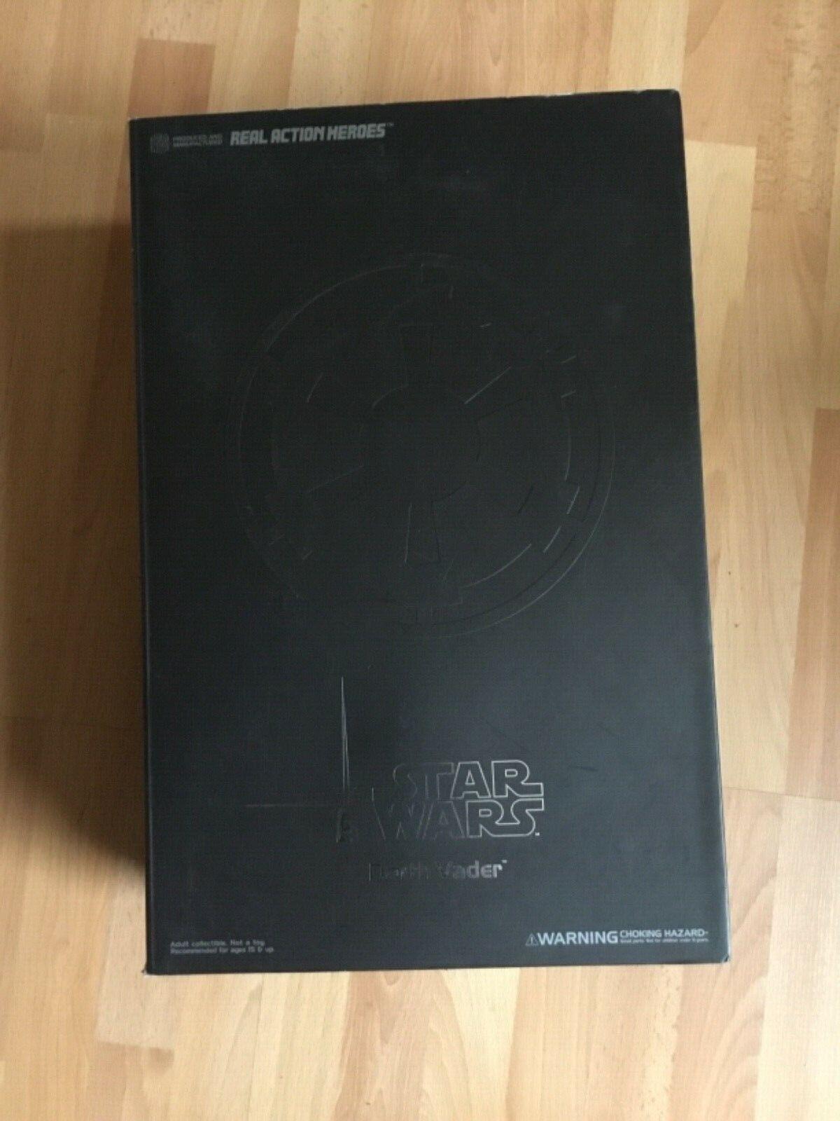 Escala 1 6 de Star Wars Epi III Real Action Heroes Figura De Medicom Darth Vader 12