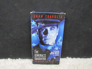 1999-The-General-039-s-Daughter-with-John-Travolta-Paramount-Pictures-Presents-VHS