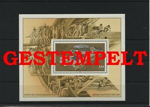 Germany-GDR-vintage-yearset-1981-Mi-Block-64-Postmarked-Used-More-See-Shop